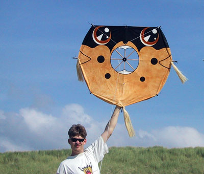 My fist attempt at a Fuga kite
